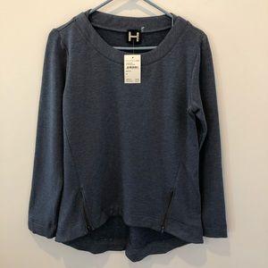 H by Bordeaux Ultrasoft Blue Sweatshirt Sz Medium